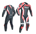 RST Tractech Evo 3 Leather Suit 1 Piece Red